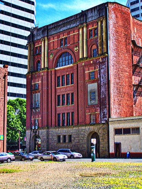 Portland Oregon - Ancient Order of United Workmen Temple -  AKA - Tourmy Building - Lost - Destroyed
