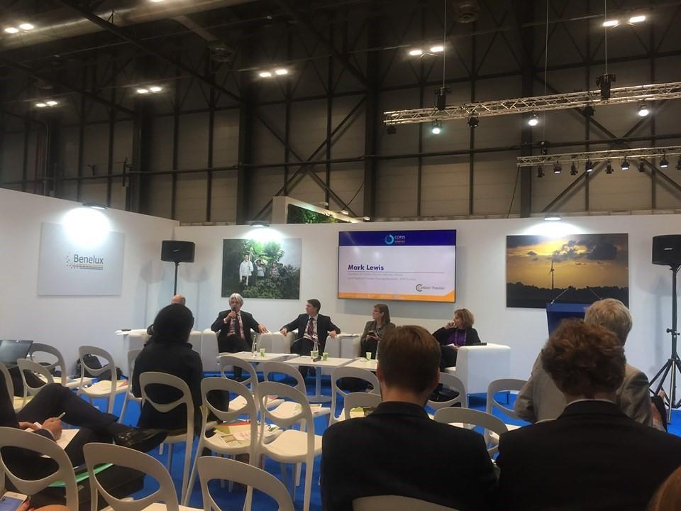 歐洲開發銀行、OECD、International Renewable Energy Agency 討論如何融資能源轉型(圖:易淇馨)