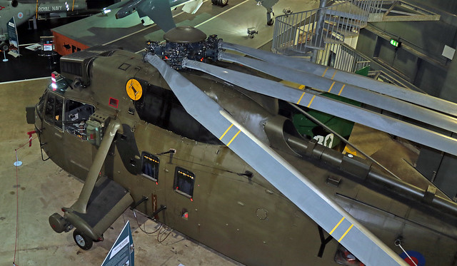 ZA298 EGDY 14-11-2019 United Kingdom - Royal Navy Westland Sea King HC.4 CN WA912