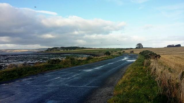 Road to Alturlie, Inverness, Oct 2019