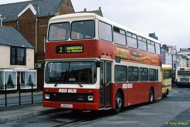 L815CFJ Red Bus 1815