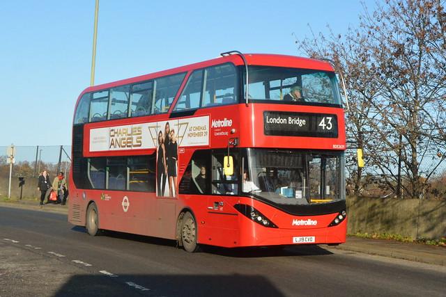 LJ19 CVO (BDE2639) Metroline London