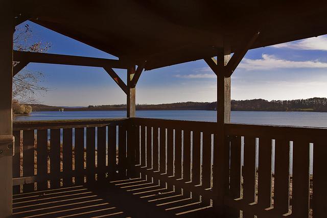 Avec vue sur le lac