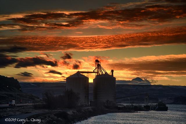 Stars and Bars Sunset, Biggs Junction, Oregon