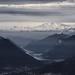 Il Lago di Lugano e il Monte Rosa