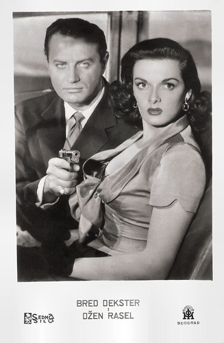 Jane Russell and Brad Dexter in The Las Vegas Story (1952)