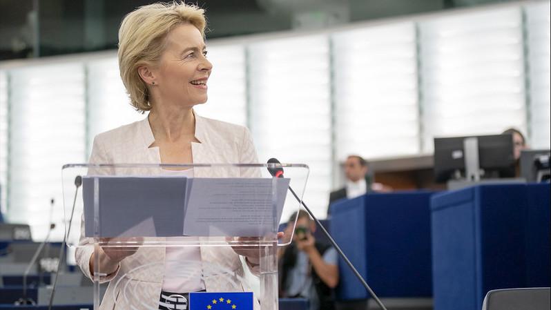 歐盟執委會主席馮德萊恩。照片來源: European Union 2019/EP(CC BY 4.0)