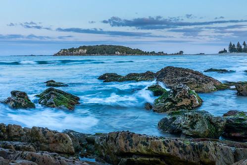 bayofplenty coast landscape moturikiisland mountmaunganui nz newzealand