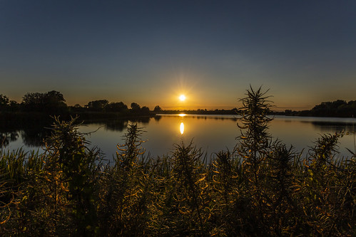 canon6d nature landscape outdoors outside sunset sun lake water reflections uk cambridgeshire