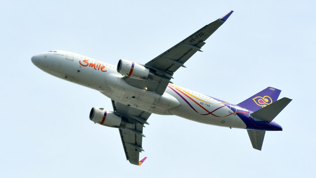 Airbus A320-232 c/n 5806 Thai Air Smile registration HS-TXG