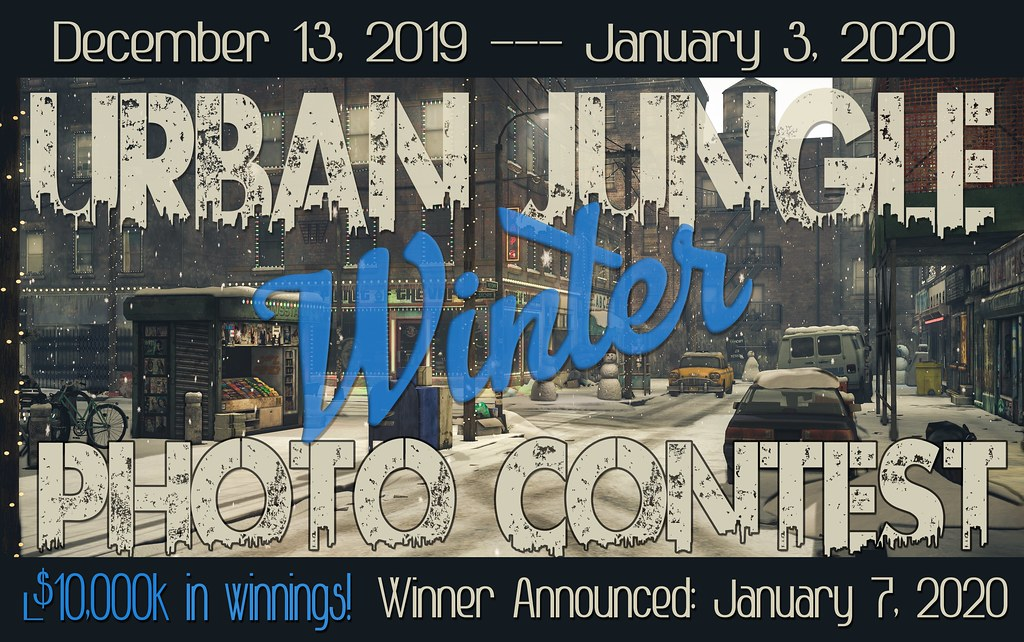 URBAN JUNGLE WINTER 2019 PHOTO CONTEST Dec. 13th – Jan. 3rd