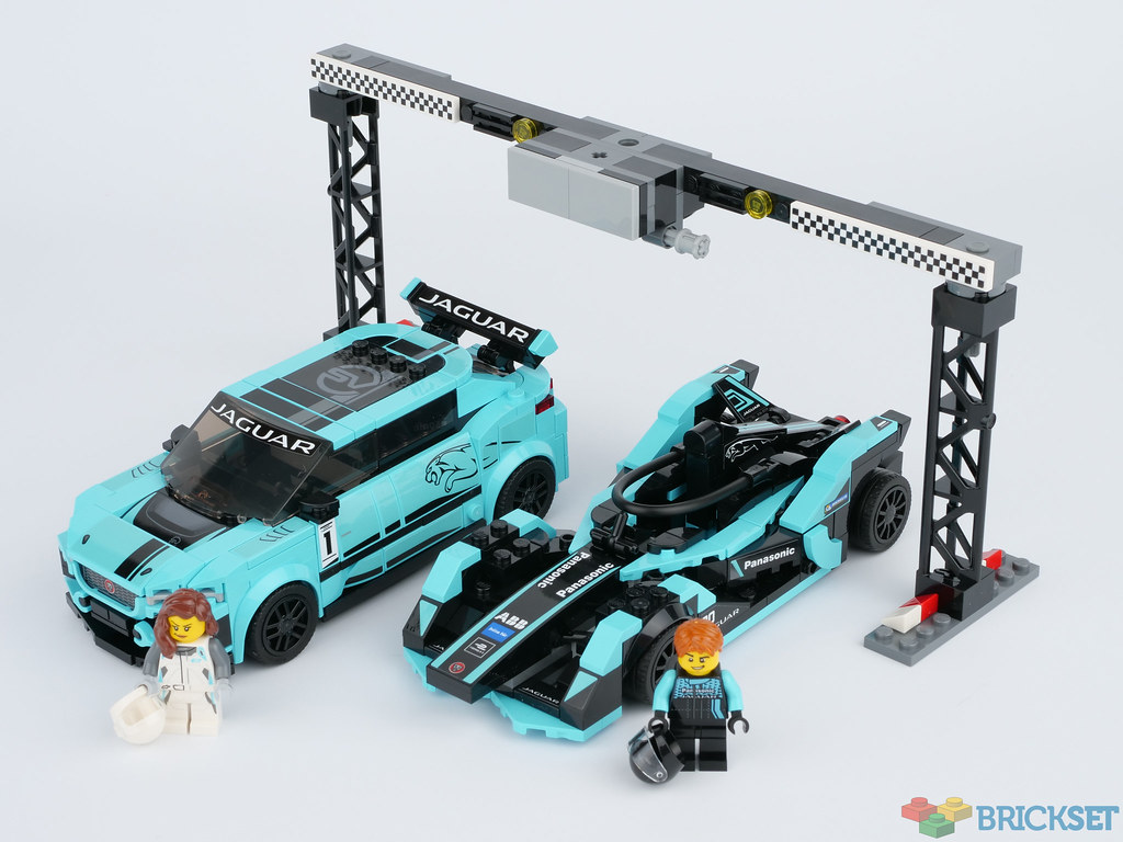 LEGO Speed Champions 76898 Formula E Panasonic Jaguar Racing GEN2 Car Jaguar I-PACE eTROPHY review