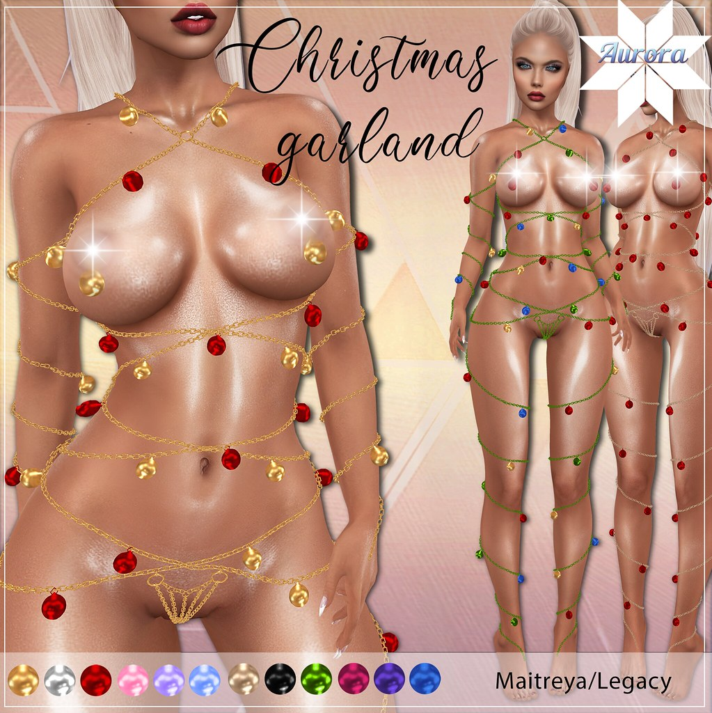 AURORA Christmas garland