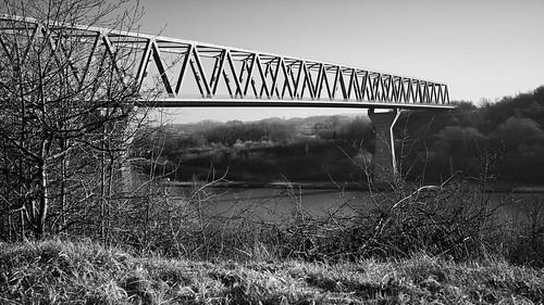 Nord-Ostsee-Kanal 190218  - Hochbrücke Grünental - B0001454