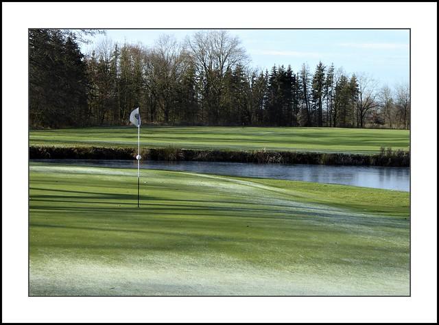 Rottal - Winterruhe auf dem Golfplatz Sagmühle