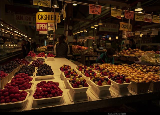 Berries in Granville Market