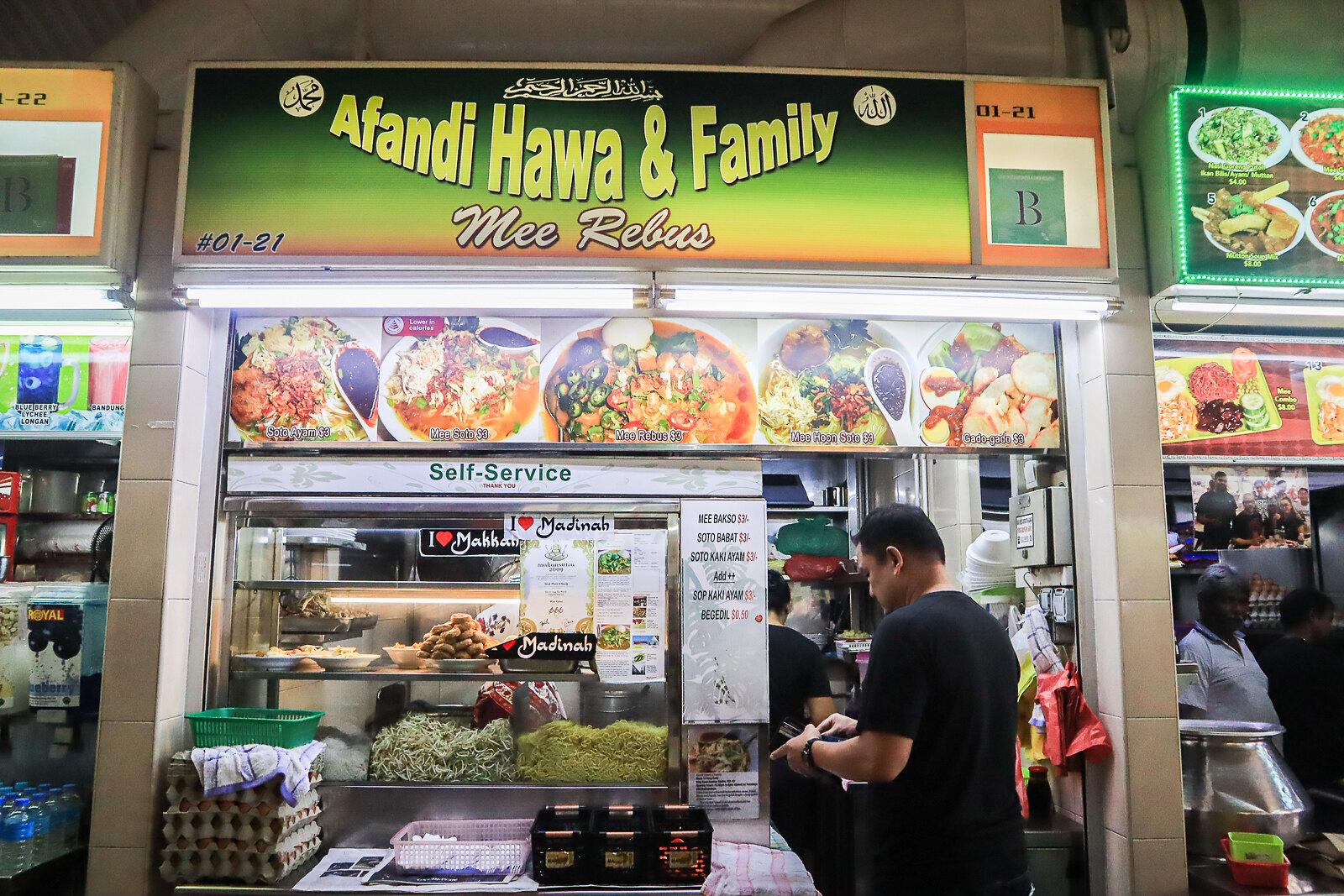 Afandi Hawa storefront