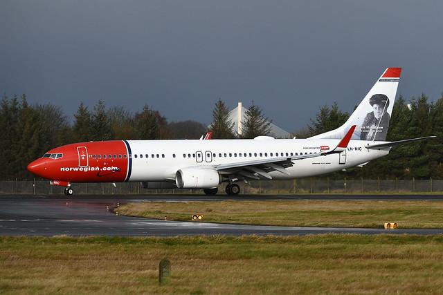 LN-NIC Boeing B737-8JP EGPH 08-12-19