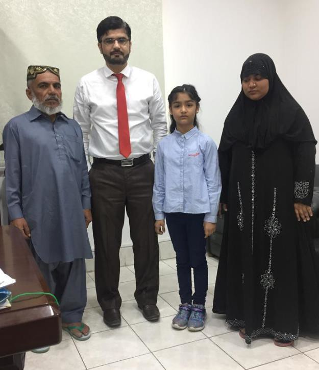 5480 3 Pakistani Children released from Saudi Jail, return home 02