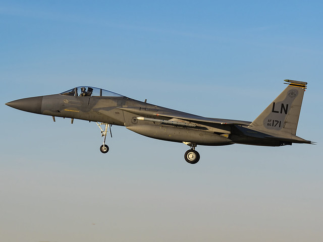 United States Air Force | McDonnell Douglas F-15C Eagle | 86-0171