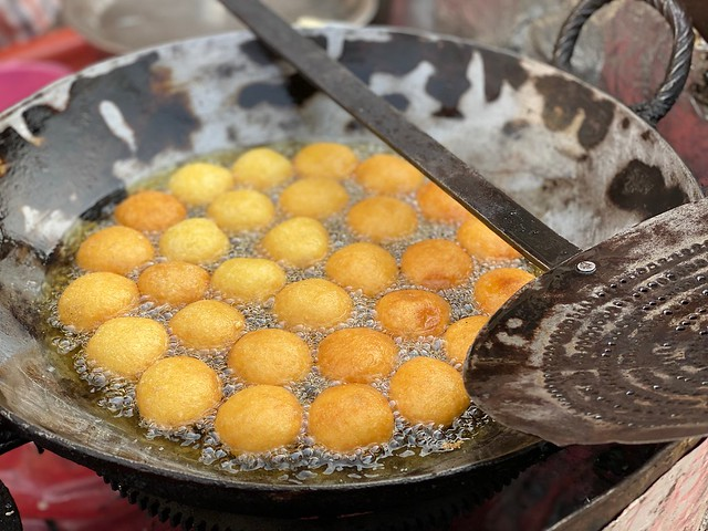 City Food - Anoj's Ram Laddu, Naya Bazar, Gurgaon