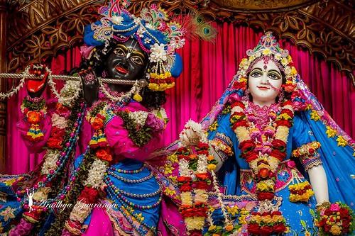 ISKCON Mayapur Deity Darshan 13 Dec 2019