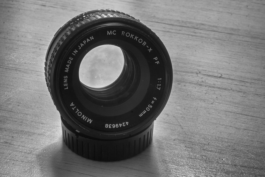 Optical Review Blog No. 03 - Minolta MC Rokkor-X PF 1:1.7 f=50mm