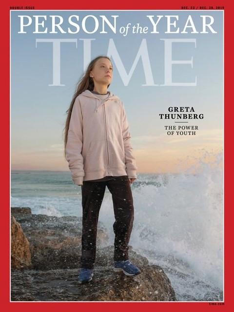 Greta Thunberg, la Persona del Año más joven en la historia de Time