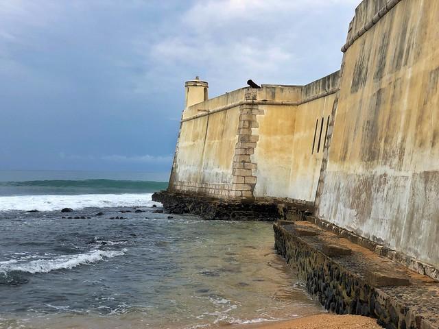 Fuerte portugués en Sao Tomé (Santo Tomé y Príncipe)