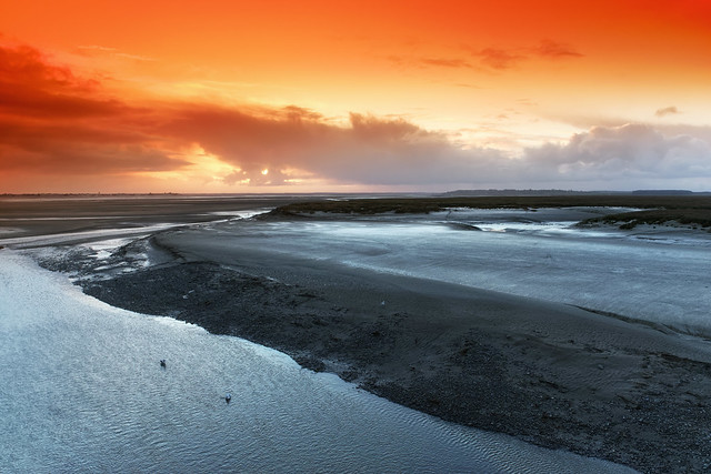 The bay of Somme