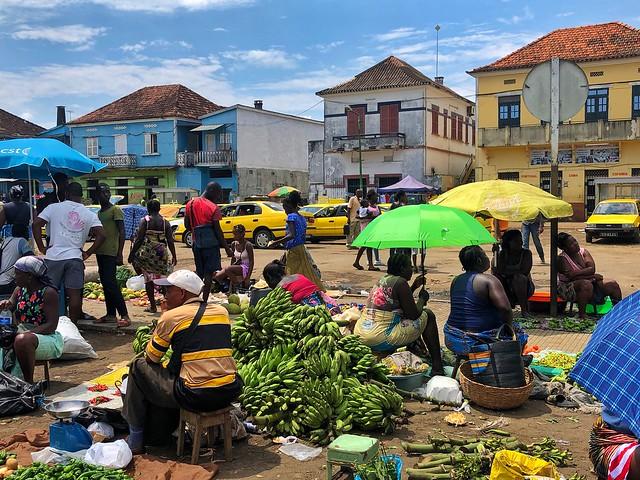 Mercado Central de Sao Tomé (Santo Tomé y Príncipe)