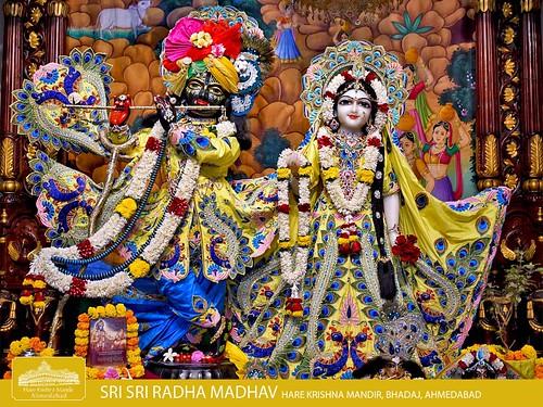 Hare Krishna Temple Ahmedabad Deity Darshan 13 Dec 2019