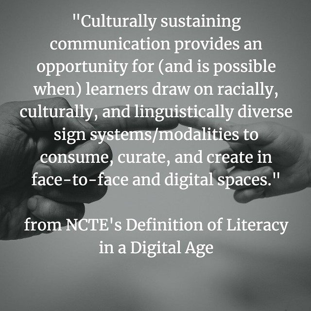 Defining Digital Literacies NCTE culture