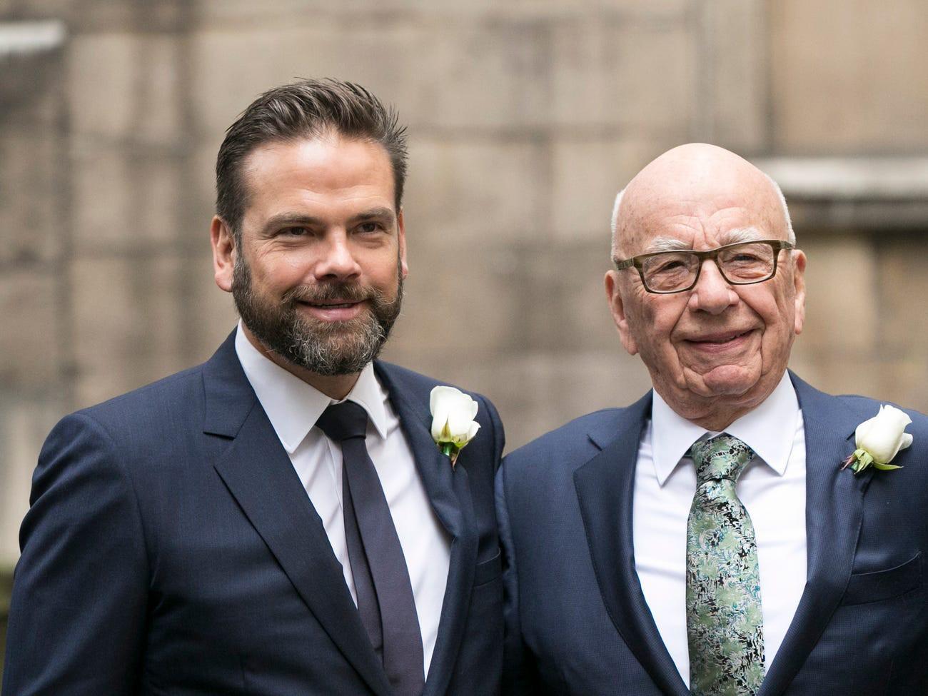 Con trai của tỷ phú Rupert Murdoch, Lachlan Murdoch (trái) là chủ nhân mới của dinh thự Chartwell. Lachlan Murdoch là đồng chủ tịch tại công ty của cha mình, News Corp. Đây là công ty đứng sau nhiều tờ báo như Wall Street Journal và New York Post.