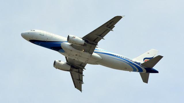 Airbus A320-233 c/n 3672 Bangkok Airways registration HS-PPO