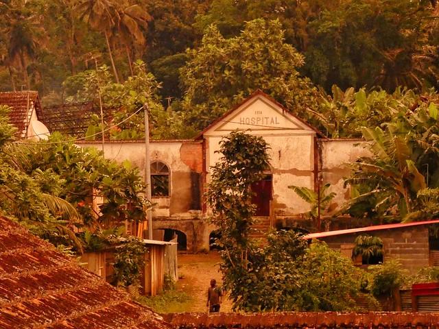 Ruinas de la roça de Agua Izé (Santo Tomé y Príncipe)