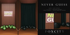 FOXCITY. Photo Booth - Never Guess (Black Neon)