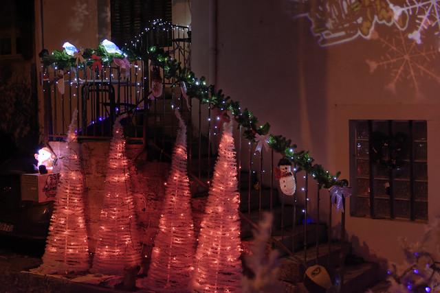 Illuminations de NOEL à VERCIA (Jura)