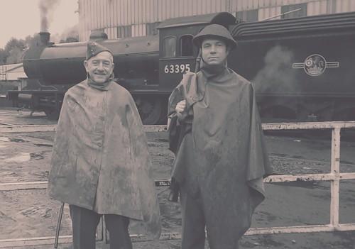North yorkshire moors railway in wartime weekend 2018