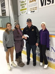 Donation to Westport Figure Skating Club