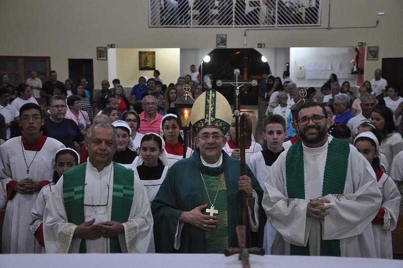 Visita Pastoral de Dom Edmilson na Paróquia Santa Rita - Jd. Cumbica