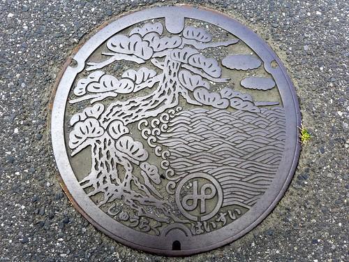 Ichinomiya Chiba, manhole cover (千葉県一宮町のマンホール)