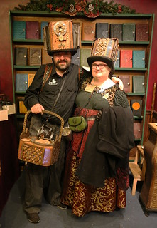 Professor and Lady Steam, at Oberon Design