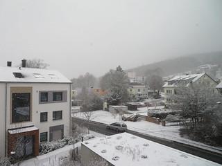 First snow in December 2019