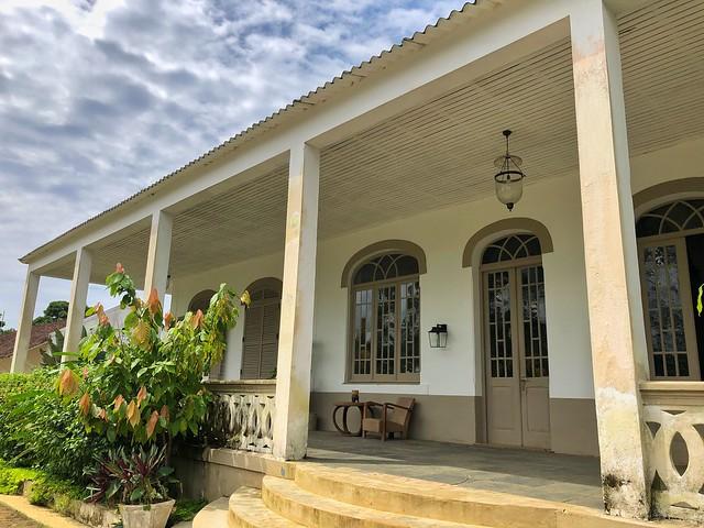 Hotel Roça Sundy en Príncipe