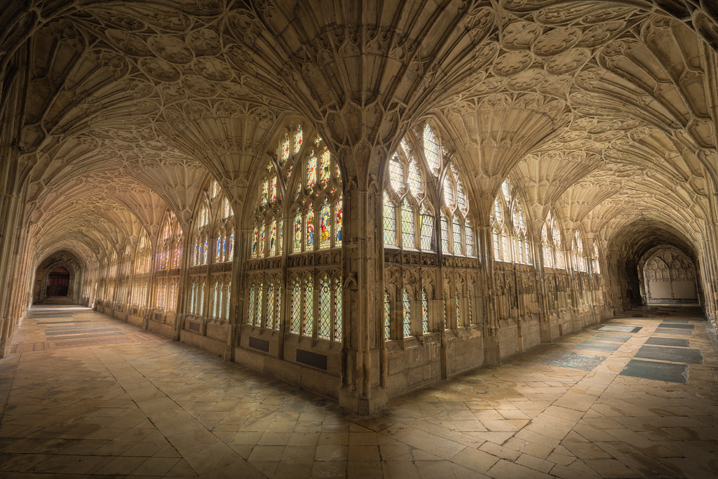 Gloucester Cathedral Cloisters