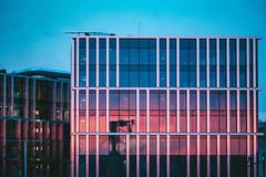Sunset reflection | Kaunas