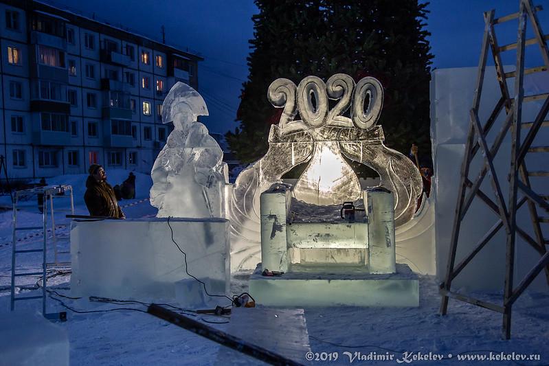 Ледовый городок 2019. Начало *6979