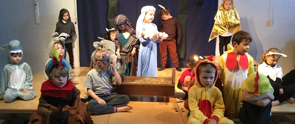 2019 Orange and Red Class Nativity