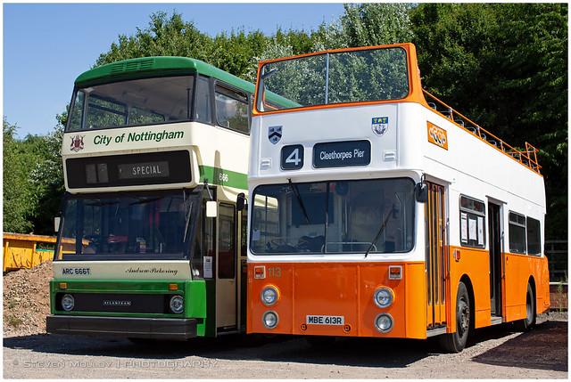 MBE613R Daimler Fleetline/Roe | Grimsby Cleethorpes Transport | Nottingham Ruddington | 15.07.2018